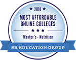 Most affordable online colleges logo.