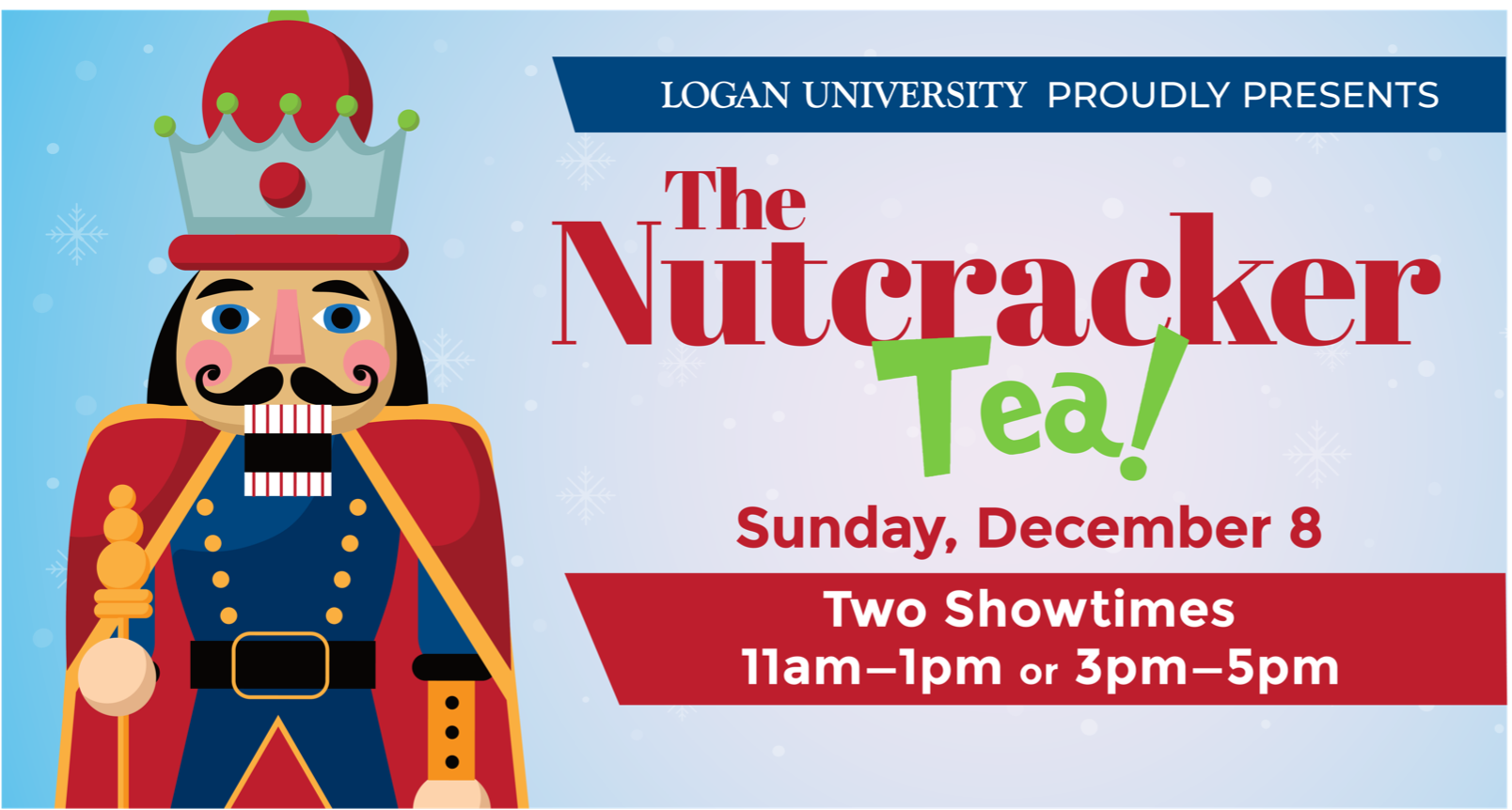 Nutcracker Tea flyer image.